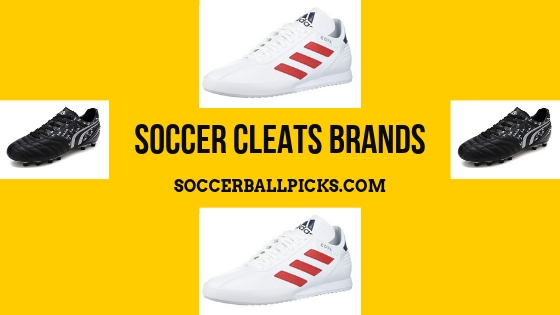 soccer cleats brands
