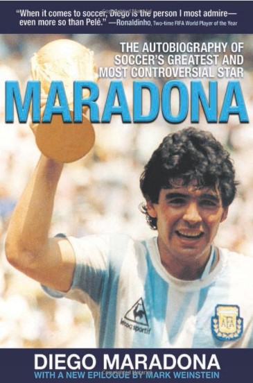 maradona biography book