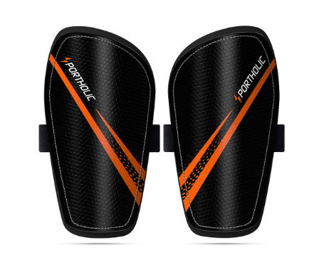 PORTHOLIC Kids Soccer Shin Guards